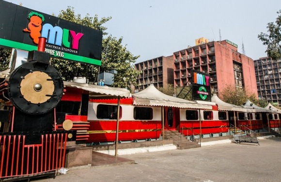 Aboard Delhi's First Food Train 'IMLY'. Where Region Is No Bar.