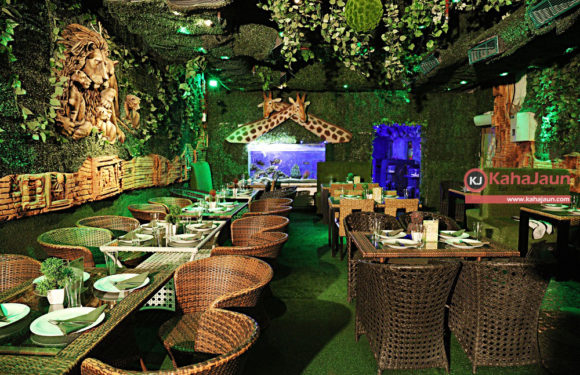 This Stunning Jungle Theme Restaurant Is The Perfect Spot To Feast With Your Family