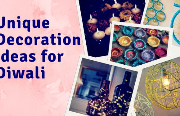 Interesting / Unique Decoration Ideas for Diwali