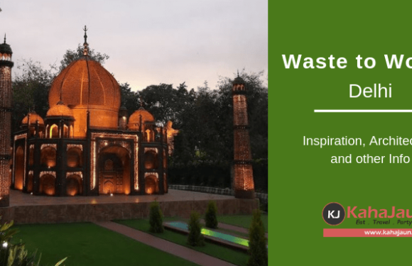 Waste to Wonder Park, New Delhi