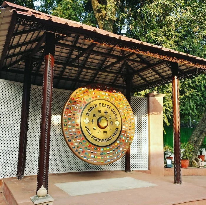 Gandhi Smriti - world peace gong