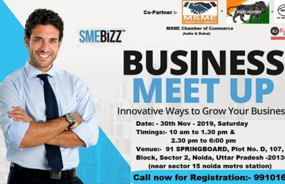 SMEBIZZ Business Networking Meetup Conclave – Noida on 30th Nov 2019