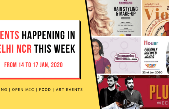 Top Events Happening in Delhi NCR this Week (from 20 to 23 Jan, 2020)