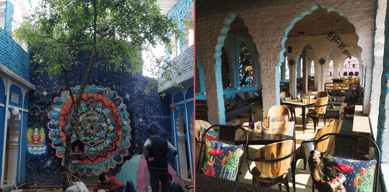 Unearth-cafe Best Cafes in Pushkar-Kahajaun