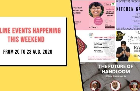 Interesting Events Happening this Weekend | 21 to 23 Aug, 2020