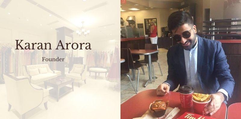 Karan-arora-designer-store-Saket-DLF-interview-min