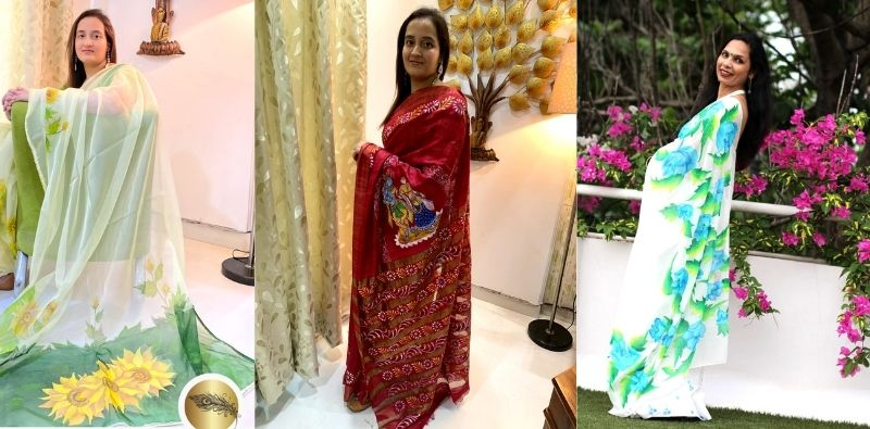 Mayur-Pankhi-by-Chitra-Veethi-handprinted-designer-wear-Kahajaun