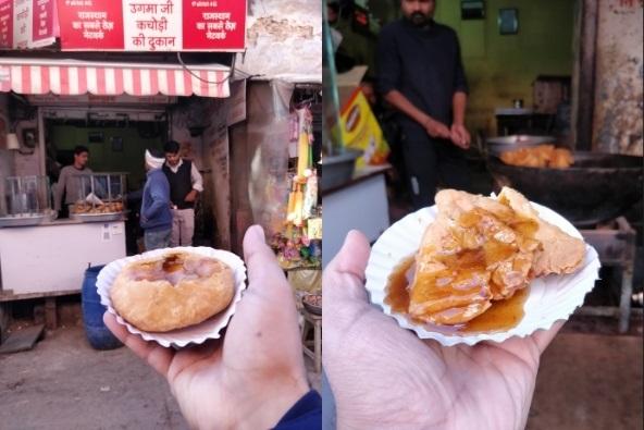 Pushkar-Street-Food-Kachori-kahajaun