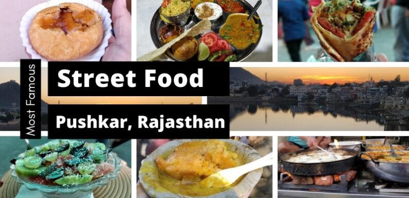 Most Famous Street Food in Pushkar, Rajasthan