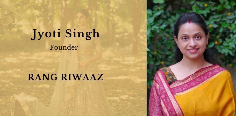 Label Rang Riwaaz Jyoti singh