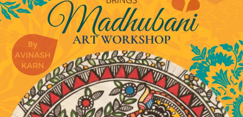 Madhubani Art Qorkshop by Avinash Karn