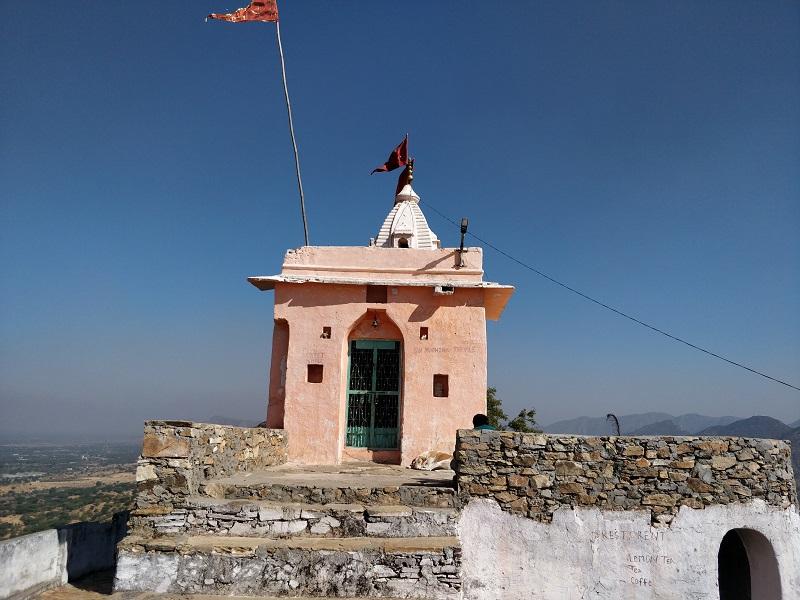 Gayatri-temple-or-Pap-Mochini-Temple-Pushkar-Rajasthan
