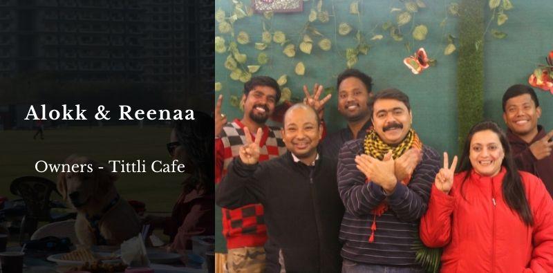 Tittli-Cafe-Sector-59-team