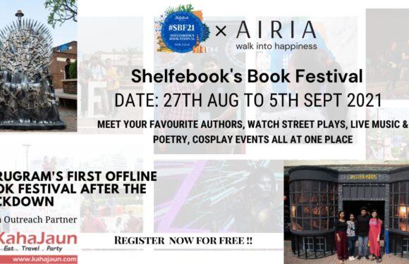 Shelfebook's Book Festival – Gurugram, 2021